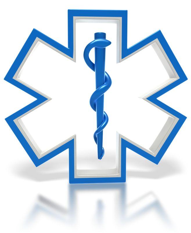 Clipart - Star of Life Medical Symbol