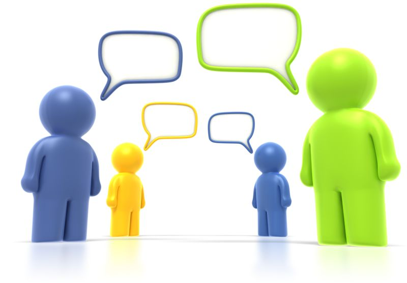 Clipart - Group Discussion