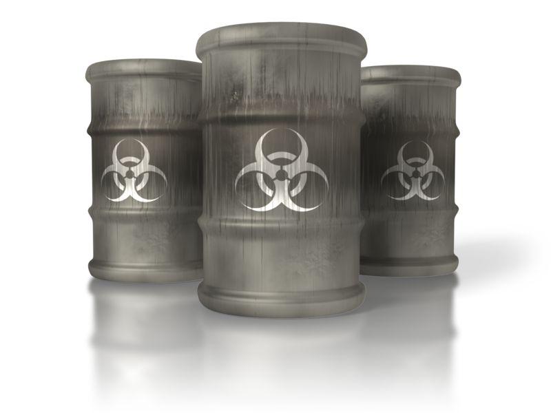 Clipart -  Bio-hazard Barrels