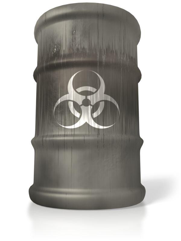 Clipart - Bio Hazard Barrel