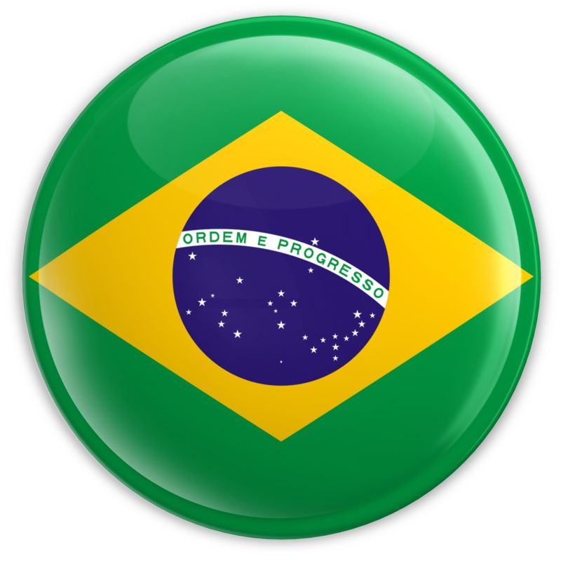 Clipart - Badge of the Brazilian Flag