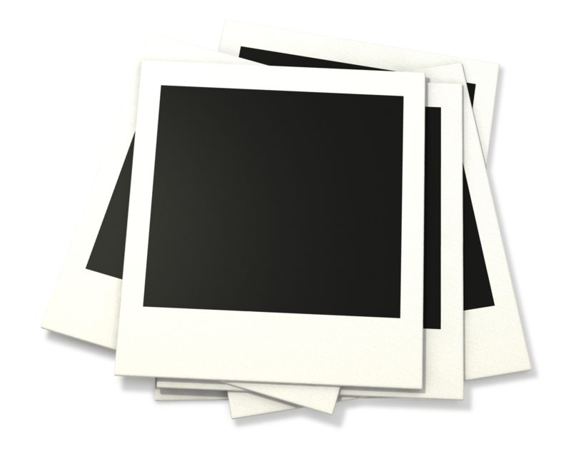 Clipart - Pile Of Old Photographs
