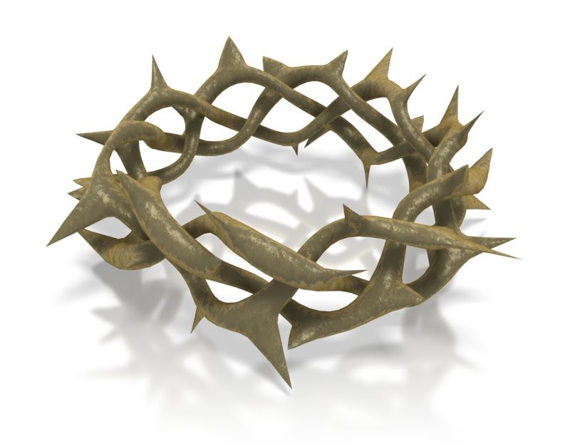 Clipart - Crown Of Thorns