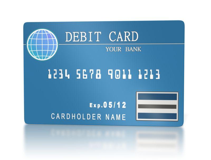 Clipart - Bank Debit Card