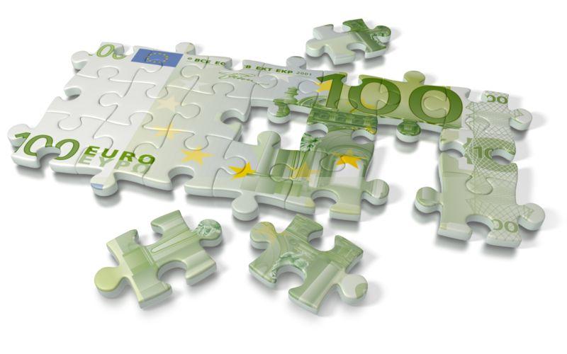 Clipart - Euro Puzzle