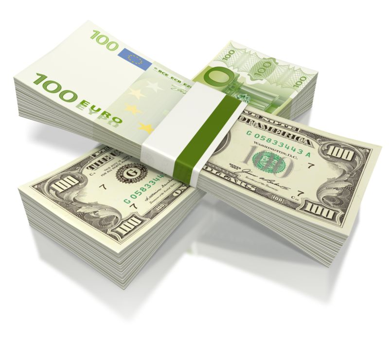 Clipart - Split Currency