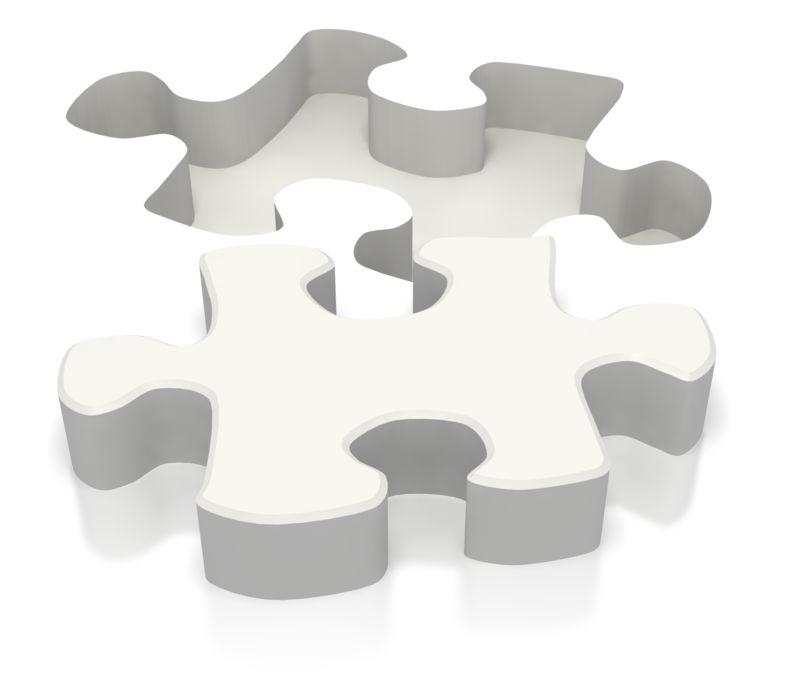 Clipart - Ground Puzzle Piece