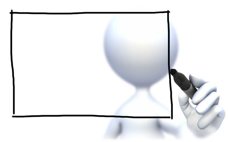 Clipart - Stick Figure Box Insert Text