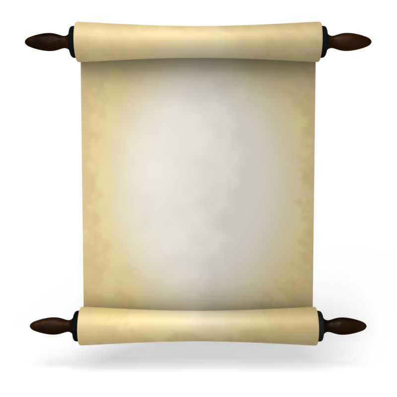 Clipart - Ancient Scroll