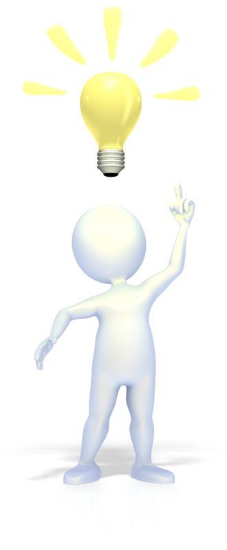 Clipart - Bright Idea