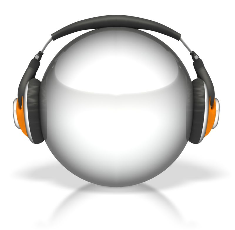 Clipart - Sphere Headphones