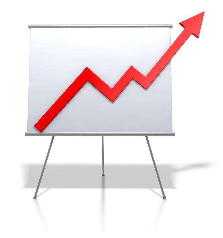 Clipart - Financial Graph Increase