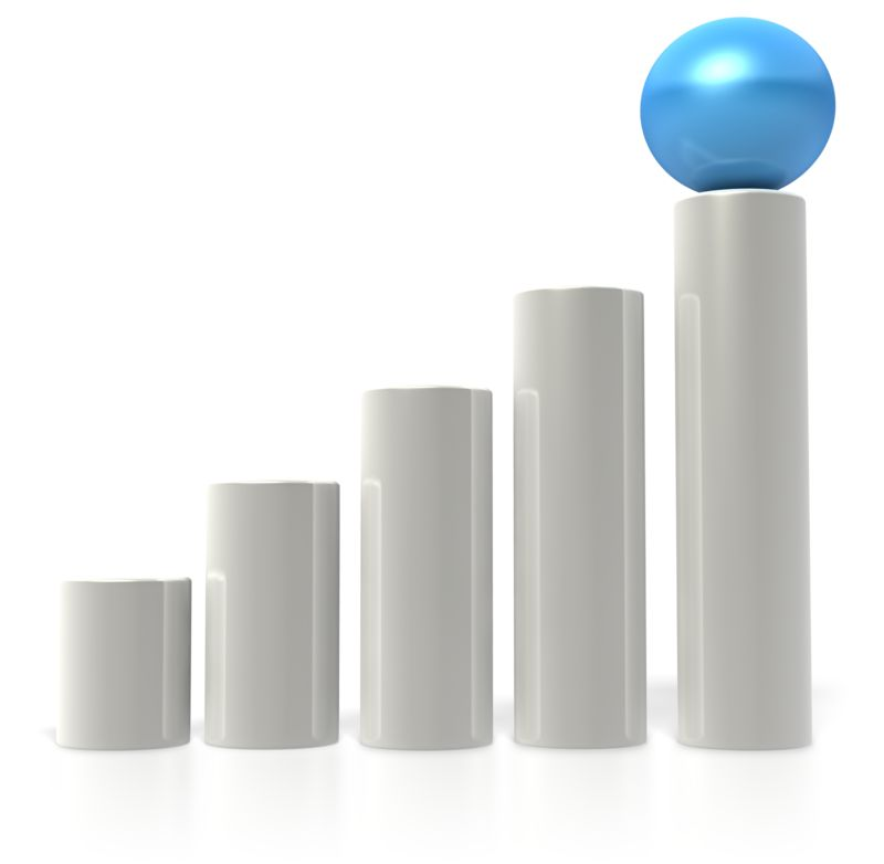 Clipart - Ball Bar Graph