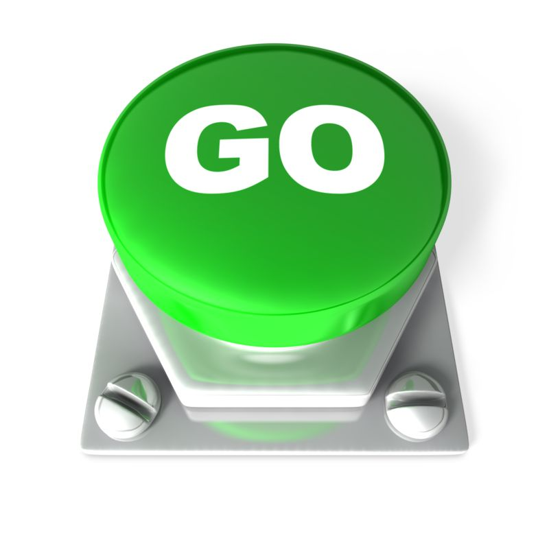 Clipart - Go Button