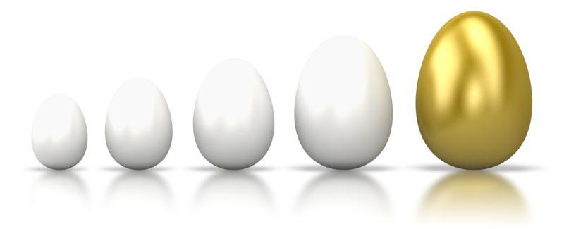 Clipart - Egg Line Grow