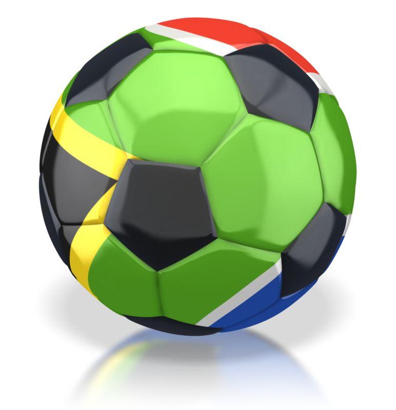 Clipart - South Africa Soccer Ball