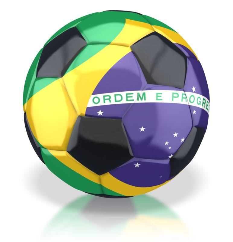 Clipart - Brazil Soccer Ball