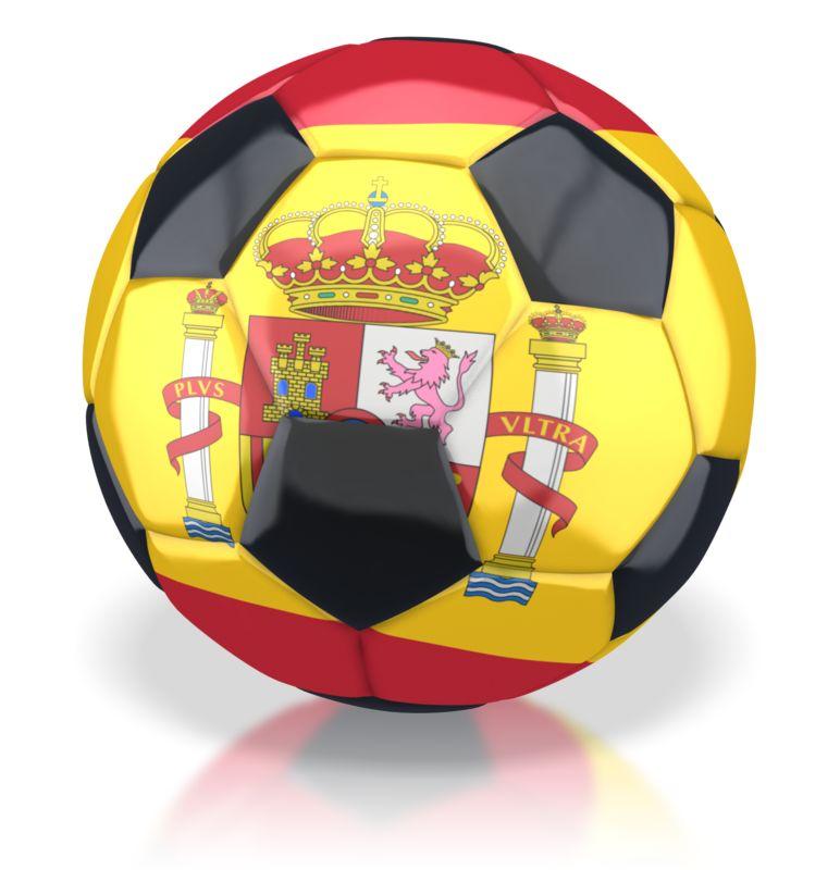 Clipart - Spain Soccer Ball