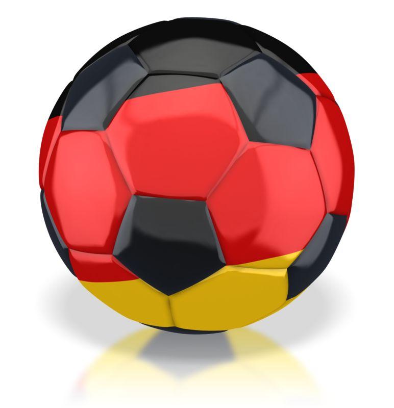 Clipart - Germany Soccer Ball