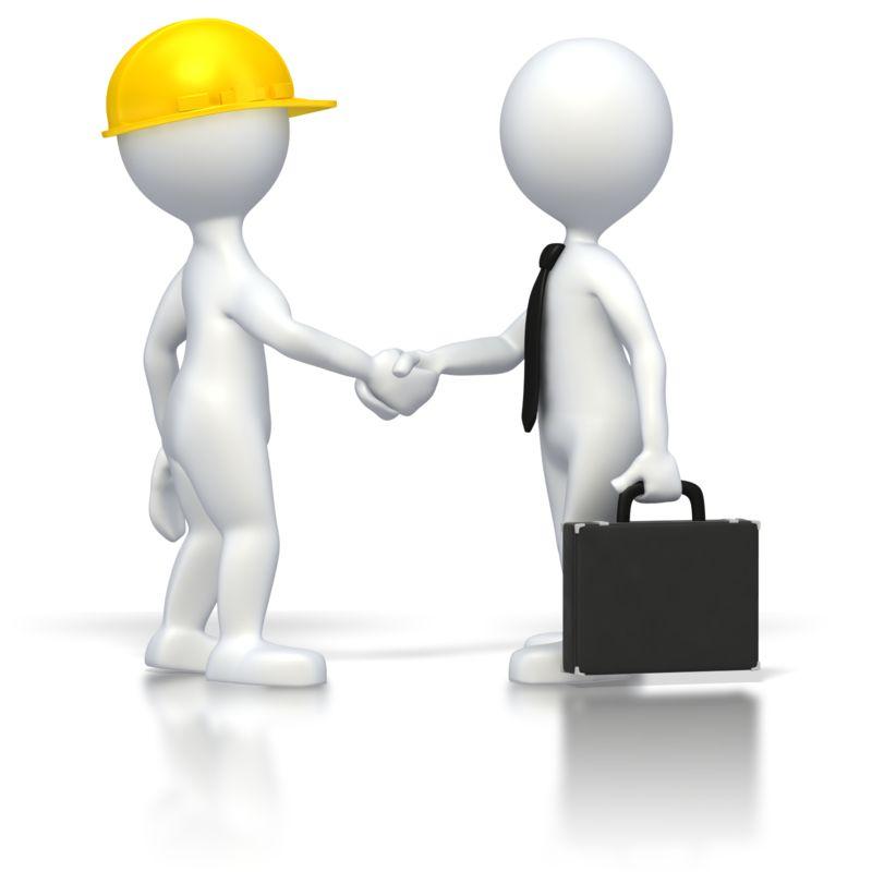 Clipart - Business Deal
