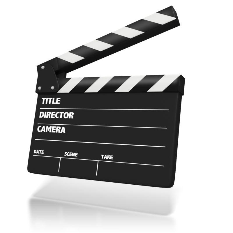 Clipart - Film Clap Board