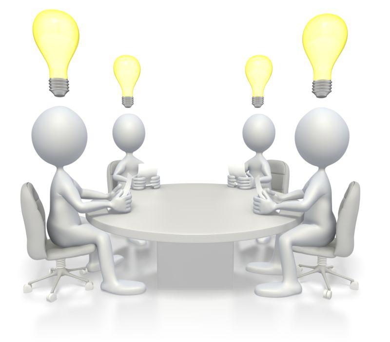 Clipart - Conference Idea