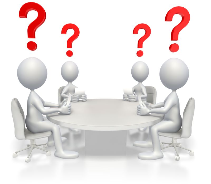 Clipart - Conference Questions
