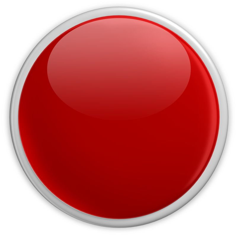 Clipart - Badge Blank Button Red