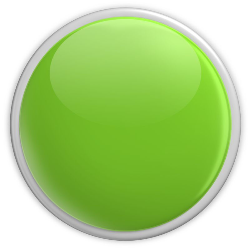 Clipart - Badge Blank Button Green