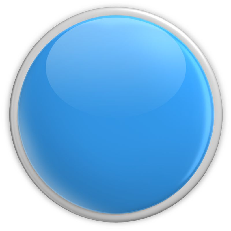 Clipart - Badge Blank Button Blue