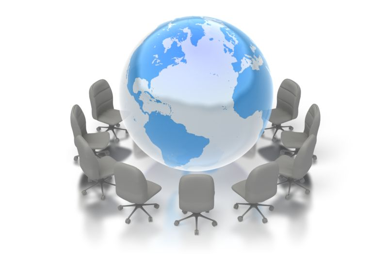 Clipart - World Conference