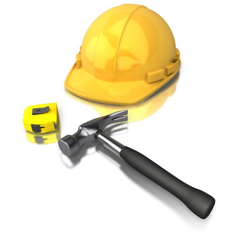 Clipart - Construction Worker Tools