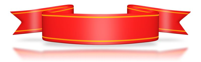 Clipart - Red Flag Banner