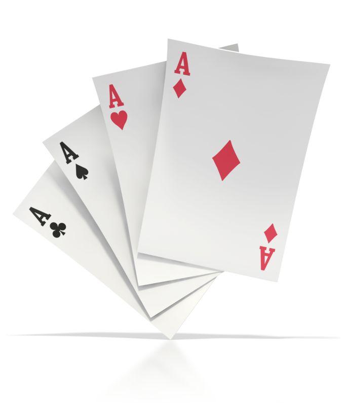 Clipart - Four Aces