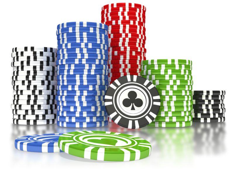 Clipart - Poker Chip Pile