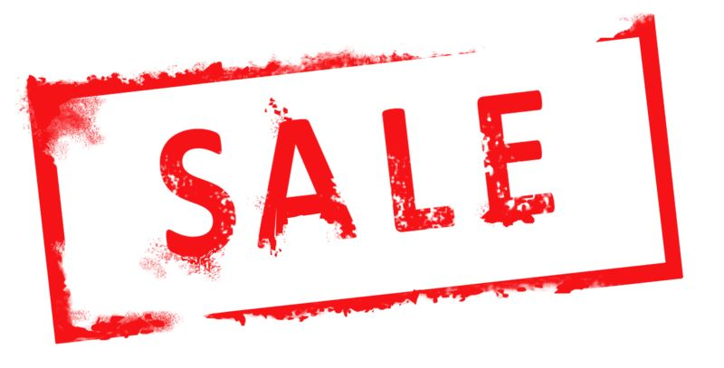 Clipart - Sale Rubber Stamp