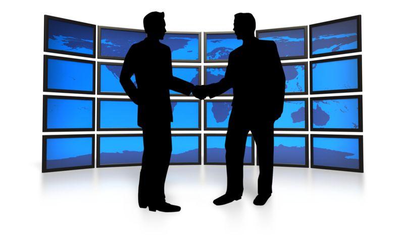 Clipart - World Business Agreement