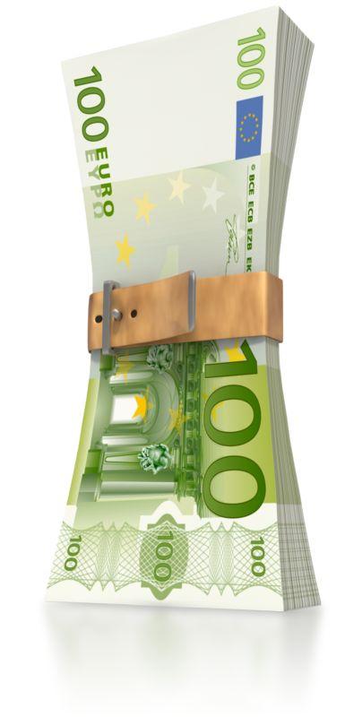 Clipart - Euro Money Squeeze