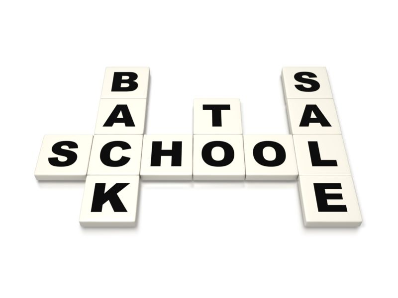 Clipart - Back To School Sale