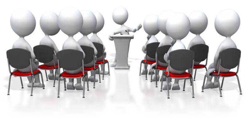 Clipart - Seminar Speaker