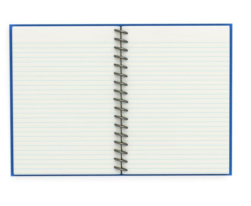 Clipart - Open Notebook