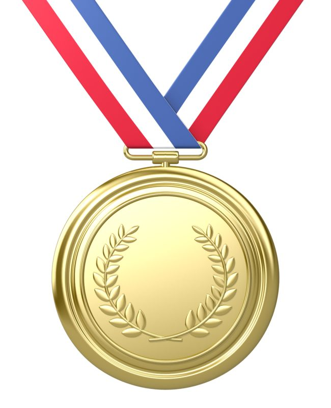 Clipart - Gold Medal Award First Place