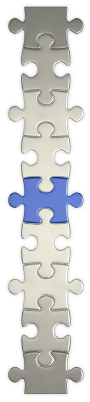 Clipart - Puzzle Piece Connect