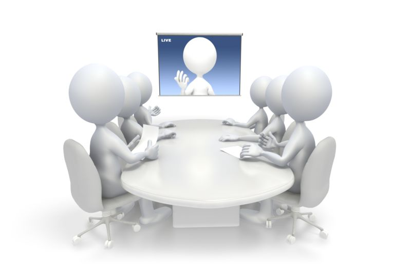 Clipart - Video Conference