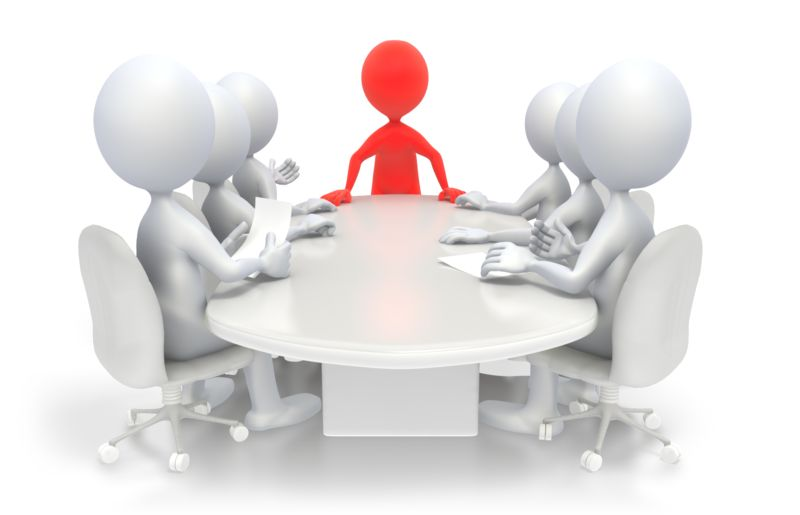 Clipart - Business Conference