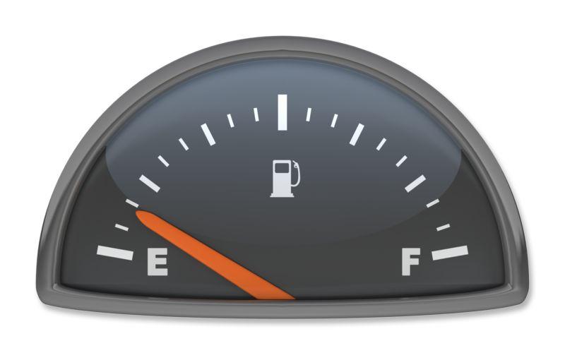 Clipart - Fuel Gauge Empty