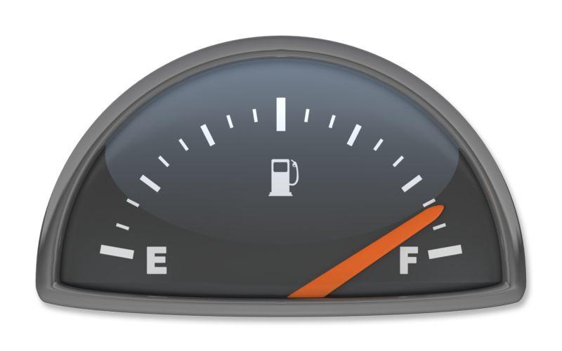 Clipart - Fuel Gauge Full