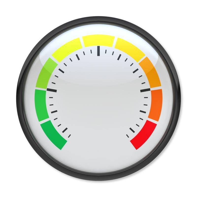 Clipart - Blank Pressure Gauge