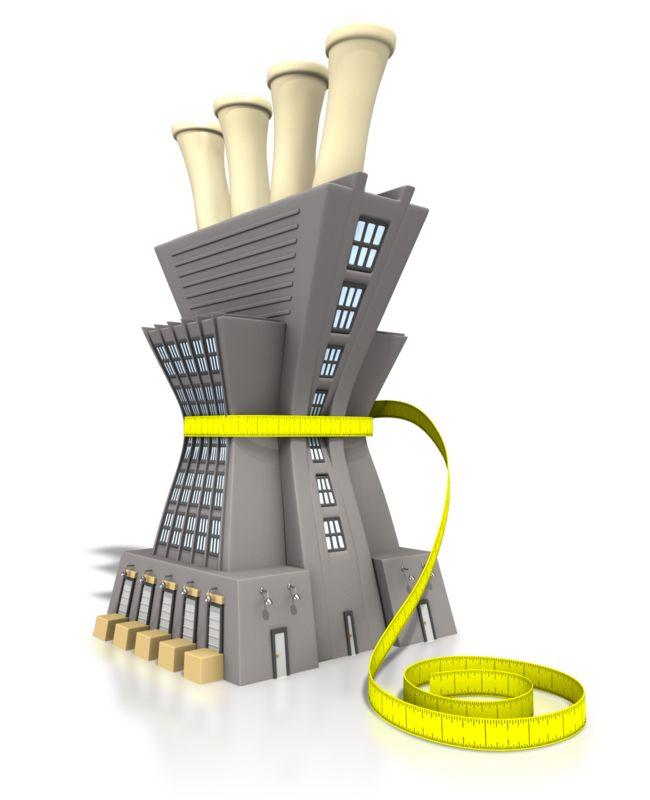 Clipart - Lean Manufacturing Tape Measure