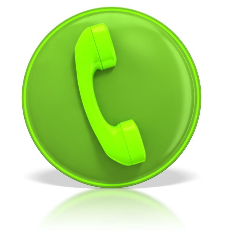 Clipart - Phone Contact Symbol
